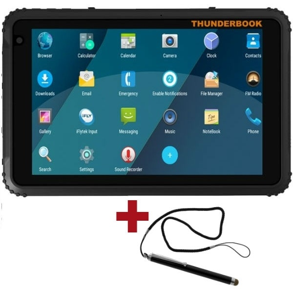 """Tablet Thunderbook H1820, 8"""" - Android 7 - 32GB"""
