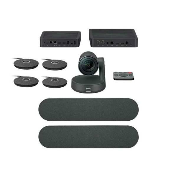 Logitech Rally Plus pack + 2 microfoon pods