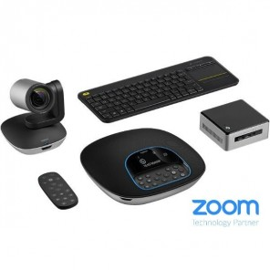 Logitech Group Kit met Intel NUC