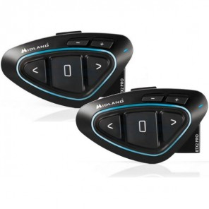 Midland BTX2 PRO Twin Bluetooth Intercom