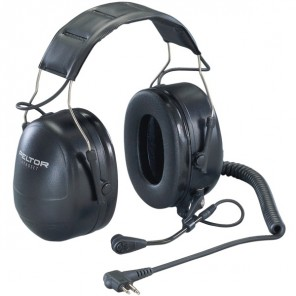 3M Peltor Flex Headset voor Motorola Walkie Talkies (2-Pins)