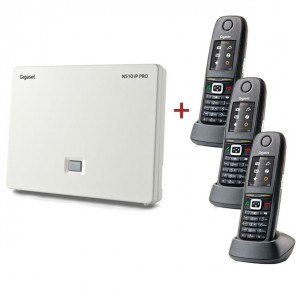 Gigaset N510 IP basis met 3 SIR650H Handsets (1)
