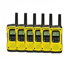 Motorola TLKR T92 H₂O Walkie Talkie - 6-Pack (1)