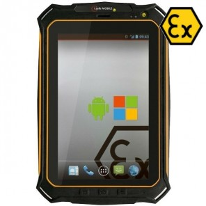 Tablet i.Safe IS910.2 NFC, Atex, zonder camera - Android 8