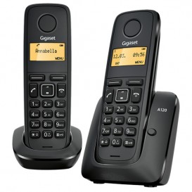 Gigaset A120 Duo ECO DECT Cordless Phone