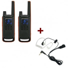 Motorola Talkabout T82 + 2x Bodyguard Kit