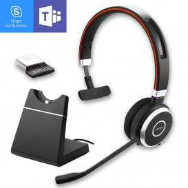 Jabra Evolve 65 MS Mono with Charging Stand