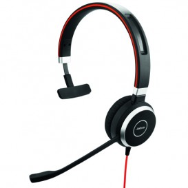 Jabra Evolve 40 UC Mono Headset For Mobile Phone