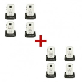 Dynascan 1D Walkie Talkie 8-pack (white) (1)