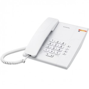 Alcatel Temporis 180 White Analogue Phone
