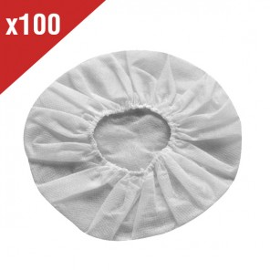 100 Hygienic Cotton Headset Covers