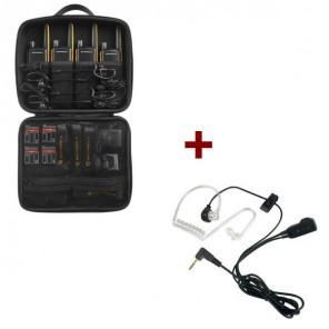 Motorola Talkabout T82 Extreme 4-Pack + 4x Bodyguard Kit