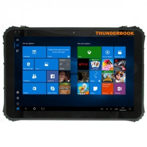 "Thunderbook Tablet C1220G, 12,2"" - Windows 10 & Barcode scanner"