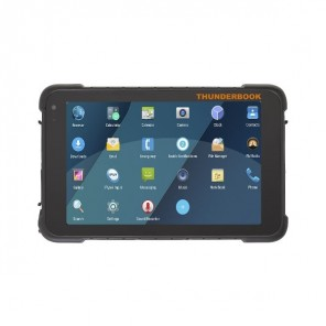 Thunderbook Colossus A802 - Android 5.1 - with reader front