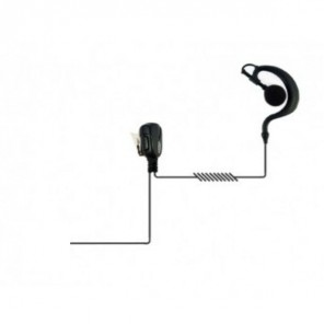 Earhook headset for Motorola DEP/DP/MTP/XiR