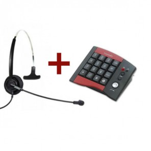 Pack Freemate Keyboard Phone DA207 + DU011U Headset