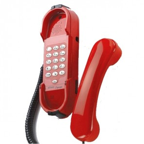 Depaepe HD2000 Emergency Phone with Keypad (Red)