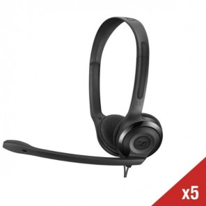 Set of 5 Sennheiser PC headsets