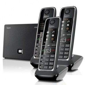 Triopack: Gigaset C530 IP base with 3x C530HX handsets