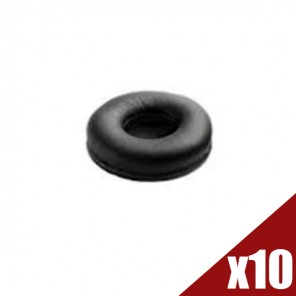 Leatherette Ear Cushion for Jabra BIZ 2400 II (Pack of 10) (1)