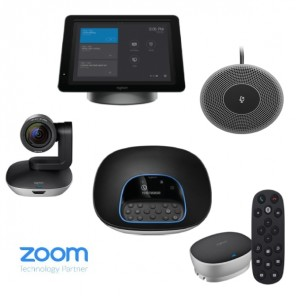 Kit with Logitech Group, SmartDock, and Microphone