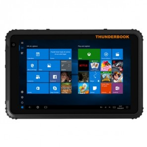"Thunderbook Tablet T1820G, 8"" - Windows 10 Home"