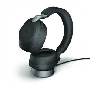 Jabra Evolve2 85 MS Stereo with charging stand - Black
