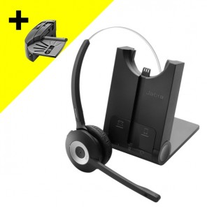 Jabra PRO 925 Dual Connectivity Cordless Headset + Handset Lifter