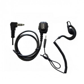 Ear hook kit for Yaesu, Dynascan and Vertex two-way radios (1)