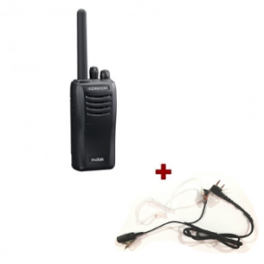 Kenwood TK-3501 + bodyguard PTT headset