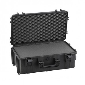 MAX520S Black - Rugged foam case