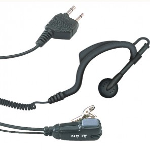 Midland MA21-D Earhook Kit with PTT
