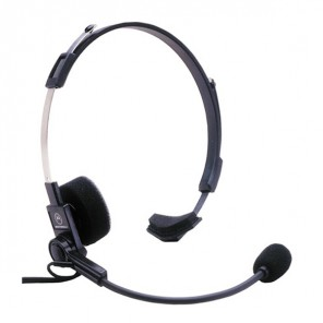 Headset with Boom for Motorola 1-Pin Radios