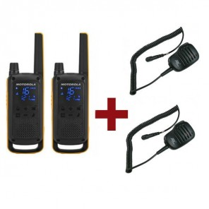 Motorola Talkabout T82 Extreme + 2x Speaker Microphone
