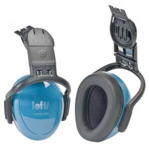 MSA headset with ear protection (blue) (1)