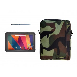 Thunderbook Titan A800 package: military cover and pen
