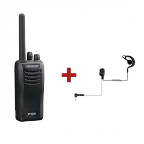 Kenwood Protalk TK-3501 + Earphone hook