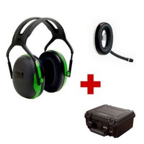 Bluetooth communication package with 3M Peltor X1 (1)