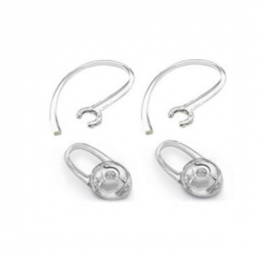Gel Eartips + over-ear piece for Plantronics M25/M55/M165