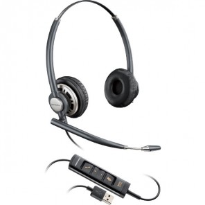 Plantronics EncorePro HW725 USB Duo PC Headset