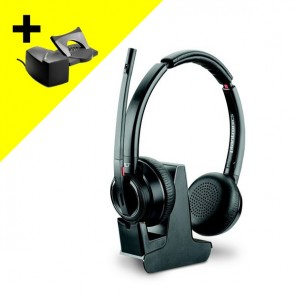 Plantronics Savi 8220 MS with Handset Lifter