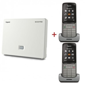 Gigaset N510 IP base with 2 SISL750H Handsets (1)