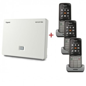 Gigaset N510 IP base with 3 SISL750H Handsets