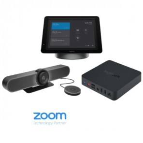 Kit with SmartDock, MeetUp, Mics and Extender Box