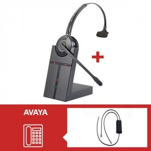 Headsetpack Cleyver HW20 for Avaya