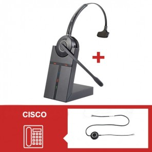 Cleyver HW20 Headset Pack for Cisco 79 Series - Second Version