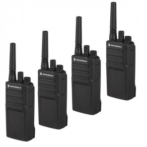 Motorola XT420 Walkie Talkie Quad Pack