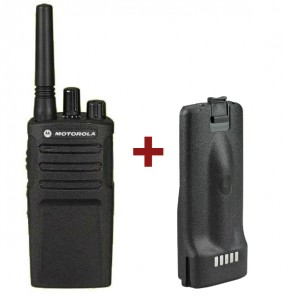 Motorola XT420 Walkie Talkie + Replacement Battery