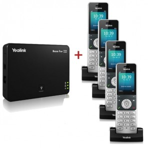 Yealink W60 Basic with 3 extra W56 Handset