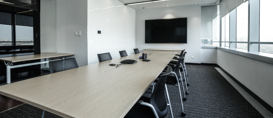 Accessories for meeting room displays